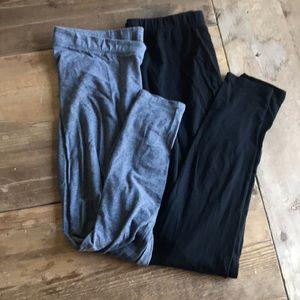 Gap maternity leggings size Medium
